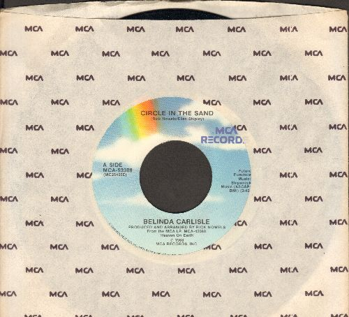 Carlisle, Belinda - Circle In The Sand/We Can Change - EX8/ - 45 rpm Records