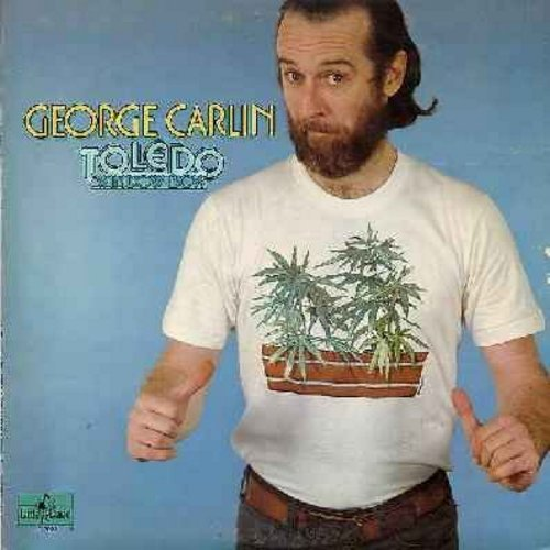 Carlin, George - Toledo Window Box: More goofy sh** from the notorious master of the English language! - EX8/VG6 - LP Records