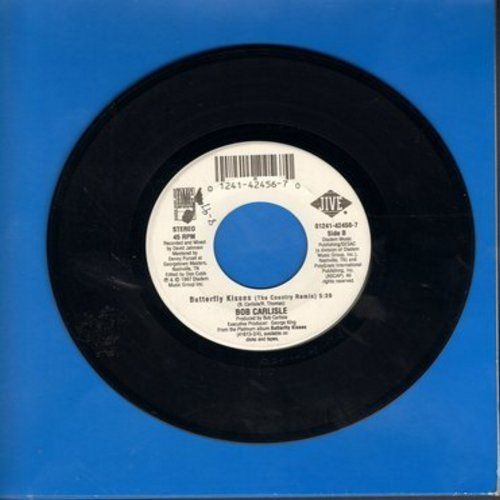 Carlisle, Bob - Butterfly Kisses (5:39 minutes Country Remix)/Butterfly Kisses (5:38 minutes Album Version) - NM9/ - 45 rpm Records