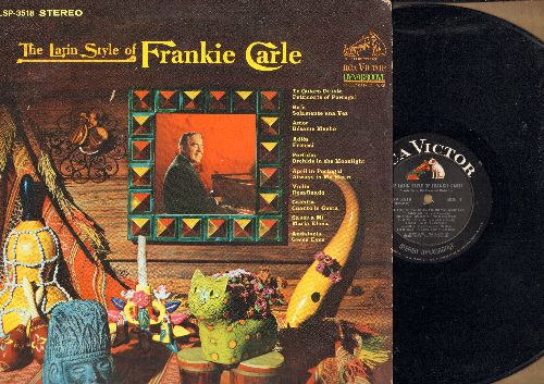 Carle, Frankie - The Latin Style Of Frankie Carle: Perfidia, Amor, Cuanto Le Gusta, Sabor A Mi (vinyl STEREO LP record) - EX8/EX8 - LP Records