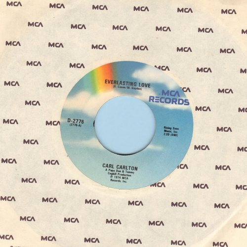 Carlton, Carl - Everlasting Love/Smokin' Room (re-issue) - M10/ - 45 rpm Records