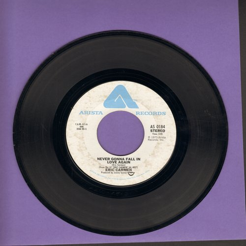 Carmen, Eric - Never Gonna Fall In Love Again/No Hard Feelings - EX8/ - 45 rpm Records