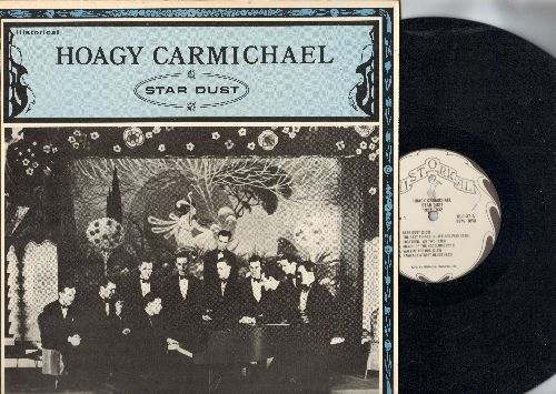 Carmichael, Hoagy - Star Dust 1927-1932: The Best Things In Life Are Free, Walkin' The Dog, High And Dry, St. Louis Gal (vinyl LP record, re-issue of vintage Big Band Recordings) - NM9/NM9 - LP Records
