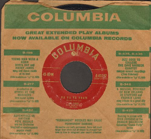 Carney, Art - Song Of The Sewer/Va Va Va Voom (with vintage Columbia company sleeve) - VG7/ - 45 rpm Records