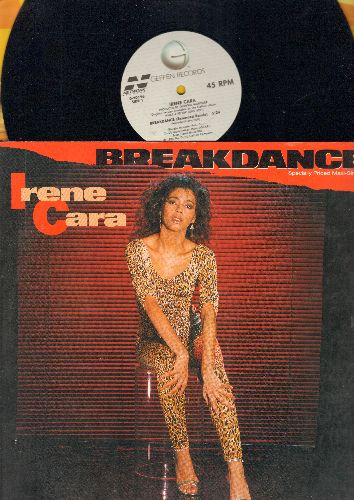 Cara, Irene - Breakdance (5:24 Extended Mix)/Breakdance (4:24 Extended Dub) (12 inch vinyl Maxi Single with picture cover) - EX8/EX8 - Maxi Singles