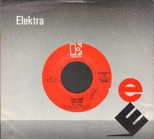 Cars - Let's Go/That's It (with Elektra company sleeve) - NM9/ - 45 rpm Records