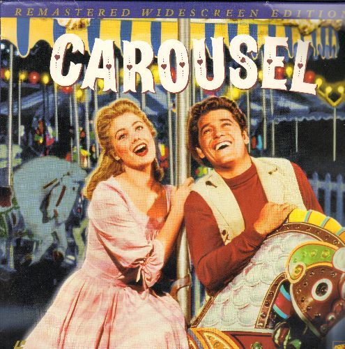 Carousel - Carousel - LASER DISC Remastered Widescreen Edition of the Classic MGM Musical starring Shirley Jones and Gordon MacRae, 2 Discs (These are LASER DISCS, NOT any other kind of media!) - NM9/EX8 - Laser Discs