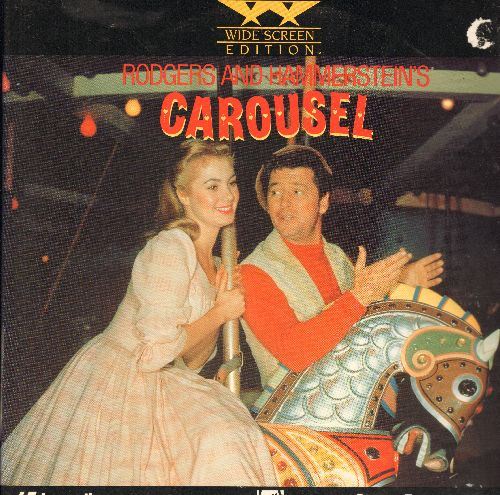 Carousel - Carousel - LASERDISC Widescreen Edition of the Classic MGM Musical starring Shirley Jones and Gordon MacRae, 2 Discs (These are LASERDISCS, NOT any other kind of media!) (small cover tear) - NM9/EX8 - LaserDiscs