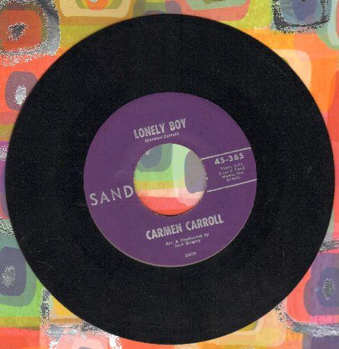Carroll, Carmen - Lonely Boy/I'm Wonderin' (RARE 1964 pressing) - NM9/ - 45 rpm Records