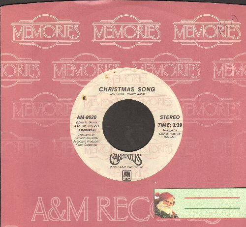 Carpenters - Merry Christmas Darling/Christmas Song (re-issue with company sleeve) - EX8/ - 45 rpm Records