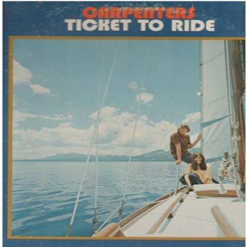 Carpenters - Ticket To Ride: All Of My Life, Invocation, Your Wonderful Parade, Benediction (Vinyl STEREO LP record) - EX8/VG6 - LP Records