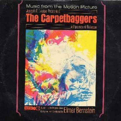 Bernstein, Elmer - The Carpetbaggers - Original Motion Picture Sound Track, Music Score Composed and Conducted by Elmer Bernstein (Vinyl STEREO LP record, DJ advance copy) - NM9/EX8 - LP Records
