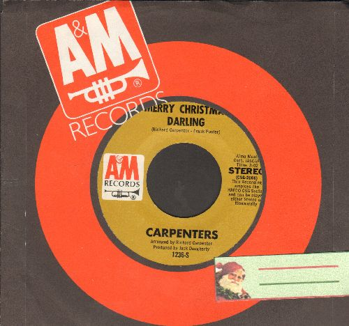 Carpenters - Merry Christmas Darling/Mr. Guder - EX8/ - 45 rpm Records