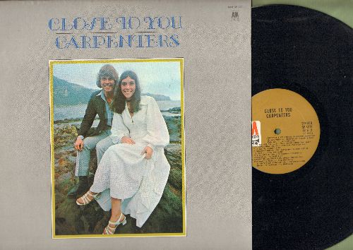 Carpenters - Close To You: We've Only Just Begun, Help!, Baby It's You, I'll Never Fall In Love Again (Vinyl STEREO LP record) - NM9/NM9 - LP Records
