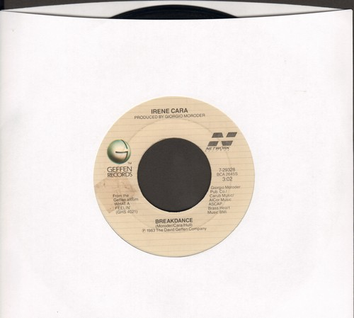 Cara, Irene - Breakdance/Cue Me Up - VG7/ - 45 rpm Records