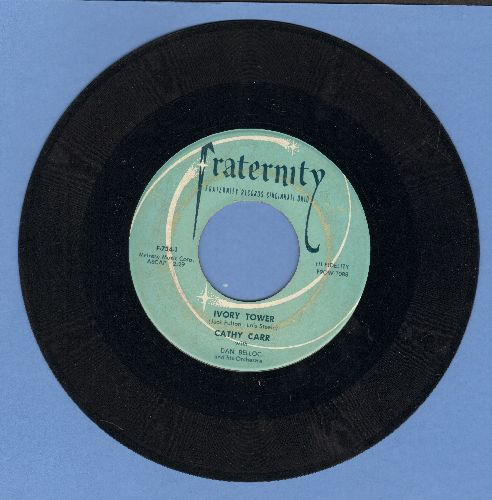 Carr, Cathy - Ivory Tower/Please, Please Belive Me  - EX8/ - 45 rpm Records