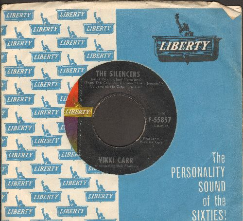Carr, Vikki - The Silencers/Santiago (with vintage Liberty company sleeve) - EX8/ - 45 rpm Records