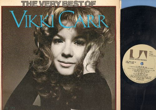Carr, Vikki - Very Best of Vikki Carr: it Must Be Home, Sunshine, Can't Take My Eyes Off Of You, Lesson, For Once In My Life, Your Heart Is Free Just Like The Wind, With Pen In Hand, Don't Break My Pretty Balloon, She'll Be There, a Dissatisfied Man, Eter