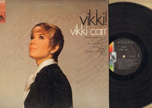 Carr, Vikki - Vikki!: Never My Love, By The Time I Get To Phoenix, For Once In My Life, The Lesson, This House That Jack Built (Vinyl STEREO LP record, NICE condition!) - EX8/VG7 - LP Records