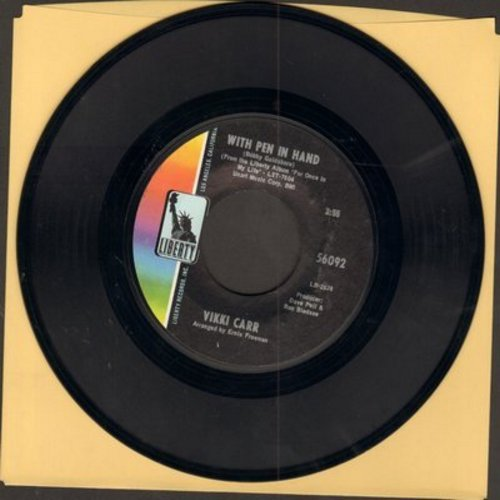 Carr, Vikki - Can't Take My Eyes Off You/With Pen In Hand - EX8/ - 45 rpm Records