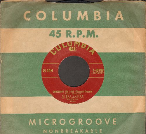 Carson, Mindy - Goodnight My Love (Pleasant Dreams)/Since I Met You Baby (with vintage Columbia company sleeve) - EX8/ - 45 rpm Records