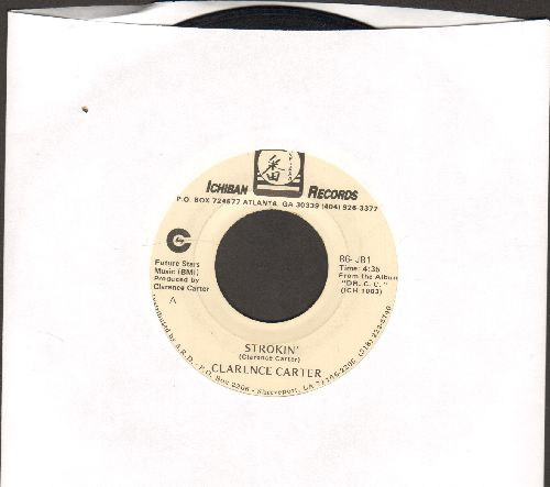 Carter, Clarence - Strokin' (PARTY FAVORITE!)/Love Me With A Feeling  - EX8/ - 45 rpm Records