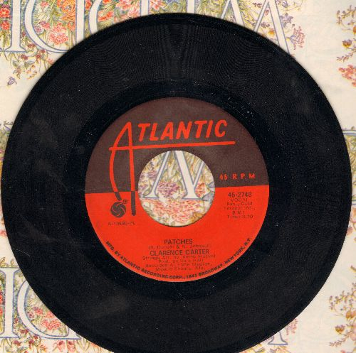 Carter, Clarence - Patches/Say It One More Time  - VG7/ - 45 rpm Records