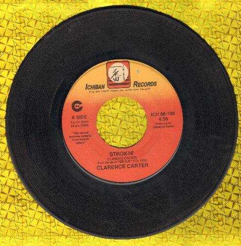 Carter, Clarence - Strokin' (PARTY FAVORITE!)/Love Me With A Feeling  - VG7/ - 45 rpm Records