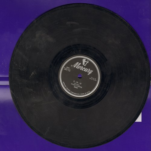 Carter, Stash - 5-10-15/I Didn't Go To Your Wedding (10 inch 78rpm record) - VG7/ - 78 rpm