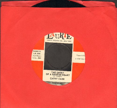 Carr, Cathy - The Ghost Of A Broken Heart/My Favorite Song (DJ advance pressing) - NM9/ - 45 rpm Records