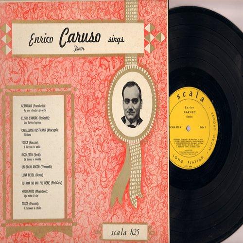 Caruso, Enrico - Enrico Caruso Sings: From Opera Classics Tosca, Rigoletto, Luna Fedel, Hugoenots, more! (Vinyl LP record, vintage Micor Groove pressing!) - NM9/EX8 - LP Records