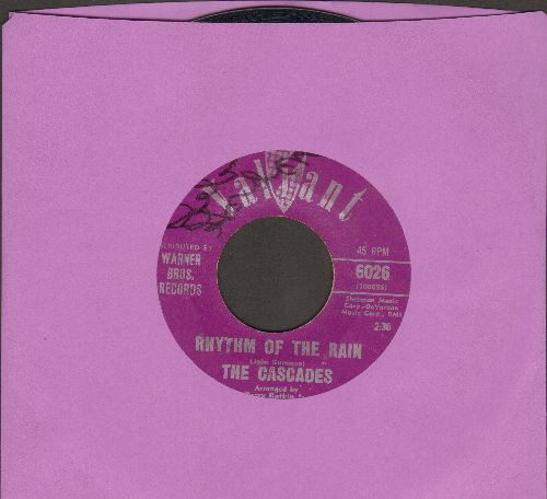 Cascades - Rhythm Of The Rain/Let Me Be - EX8/ - 45 rpm Records