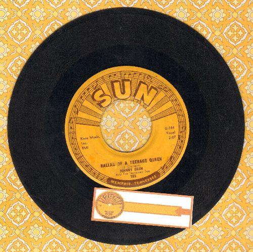 Cash, Johnny - Ballad Of A Teenage Queen/Big River - VG6/ - 45 rpm Records