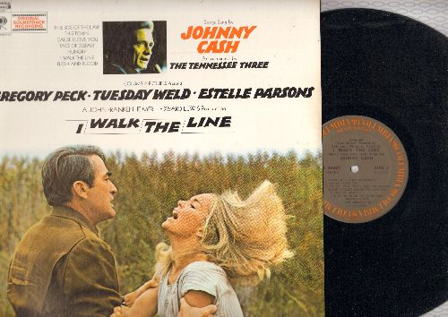 I Walk The Line - I Walk The Line - Original Motion Picture Soundtrack featuring songs by Johnny Cash (vinyl STEREO LP record) - M10/NM9 - LP Records