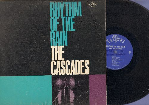 Cascades - Rhythm Of The Rain: Shy Girl, The Last Leaf, Lucky Guy, Dreamin', Punch And Judy, There's A Reason (vinyl MONO LP record, RARE 1962 first pressing) (wol) - VG7/VG6 - 45 rpm Records