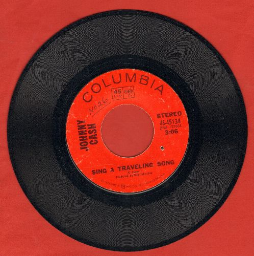 Cash, Johnny - Sing A Traveling Song/What Is Truth (bb) - EX8/ - 45 rpm Records