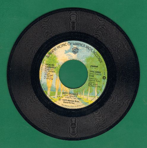 Cassidy, Shaun - Hey Deanie/Strange Sensation (MINT condition!) - M10/ - 45 rpm Records