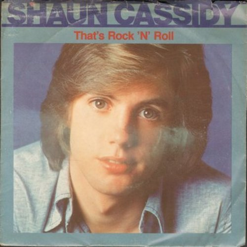 Cassidy, Shaun - That's Rock 'N' Roll/I Wanna Be With You (with picture sleeve) - EX8/VG7 - 45 rpm Records