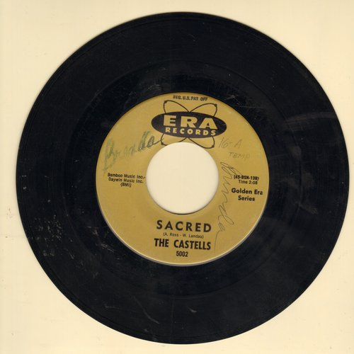 Castells - Sacred/So This Is Love (early double-hit re-issue, wol) - VG7/ - 45 rpm Records