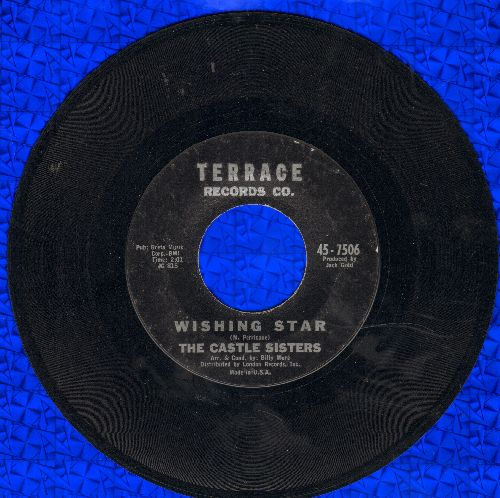 Castle Sisters - Wishing Star/Goodbye Dad  - EX8/ - 45 rpm Records