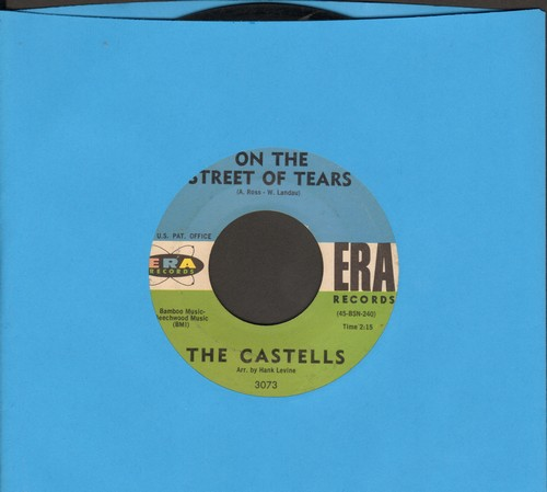 Castells - On The Street Tears/So This Is Love - EX8/ - 45 rpm Records