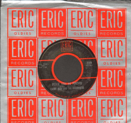 Cathy Jean & The Roommates - Please Love Me Forever/Band Of Gold (double-hit re-issue with Eric company sleeve) - NM9/ - 45 rpm Records