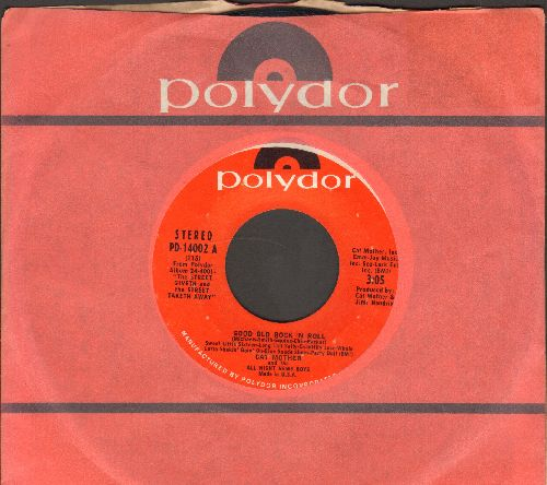 Cat Mother - Good Old Rock 'N Roll/Bad News (with Polydor company sleeve) - NM9/ - 45 rpm Records