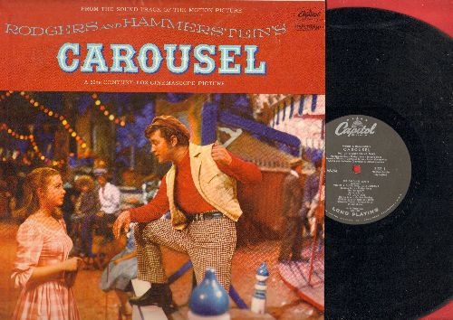 Carousel - Original Motion Picture Sound Track, featuring Shirley Jones and Gordon MacRae. (viny MONO LP record) - NM9/NM9 - LP Records