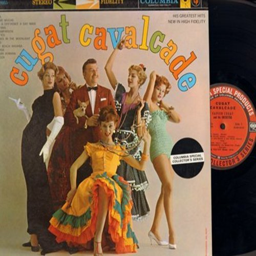 Cugat, Xavier - Cugat Cavalcade: Brazil, Besame Mucho, Tico Tico, Miami Beach Rhumba, Guitara Romana (vinyl STEREO LP record) - M10/NM9 - LP Records