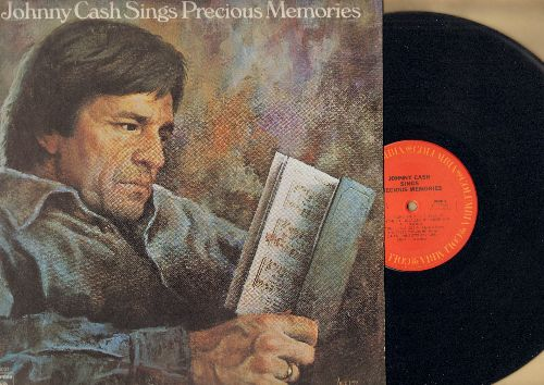 Cash, Johnny - Johnny Cash Sings Precious Memories: Rock Of Ages, Our Rugged Cross, Amazing Grace, When The Roll Is Called Up Yonder (Vinyl STEREO LP record) - NM9/EX8 - LP Records