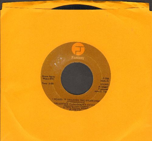 Creedence Clearwater Revival - I Heard It Through The Grapevine/Good Golly Miss Molly - EX8/ - 45 rpm Records