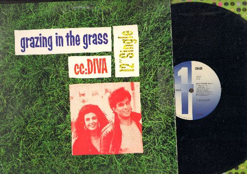 CC: Diva - Grazing In The Grass (3 Extened Dance Club Mixes)/Make Room On The Calendar (Birthday Jam) - EX8/EX8 - Maxi Singles