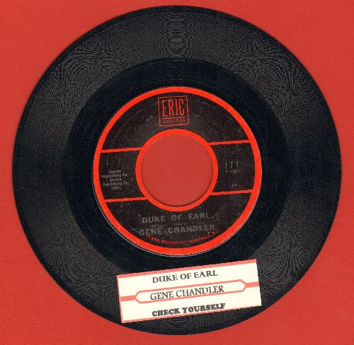 Chandler, Gene - Duke Of Earl/Check Yourself (with juke box label) - VG7/ - 45 rpm Records