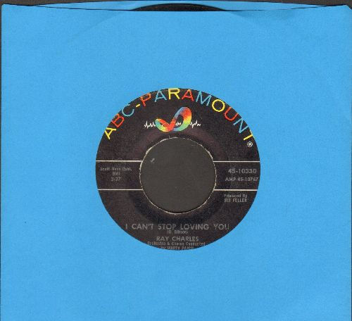 Charles, Ray - I Can't Stop Loving You/Born To Lose (wol) - EX8/ - 45 rpm Records